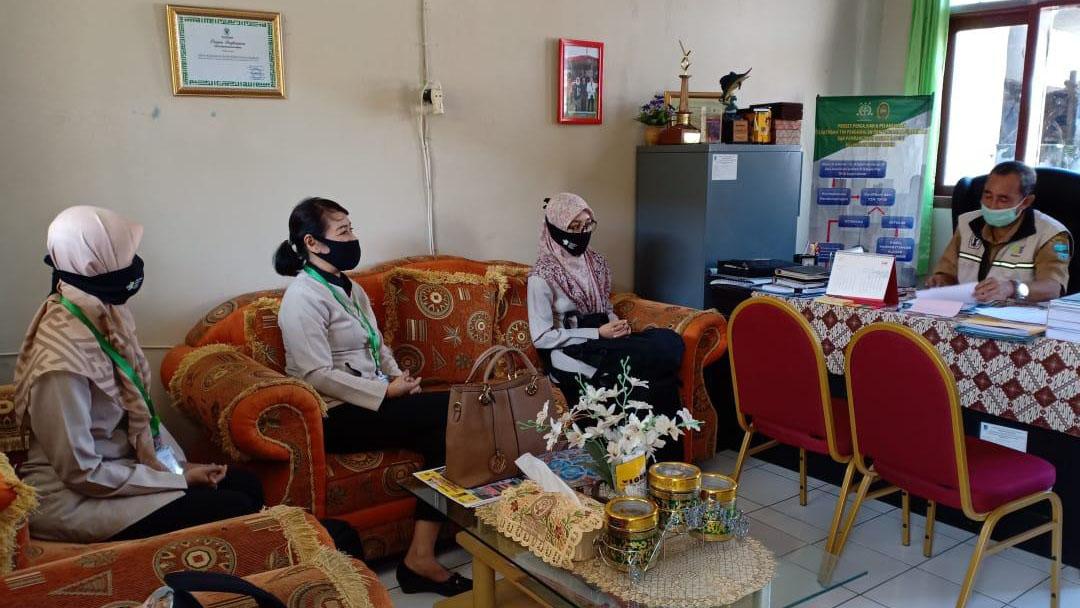 Sosialisasi Hasil Kajian Mengenai Covid-19 ke Labkesda dan Dinas Kesehatan Kabupaten Pangandaran