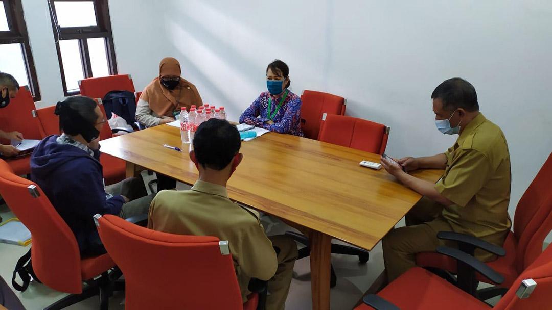 Rapat Koordinasi Dengan Dinas Kesehatan Kabupaten Sukabumi
