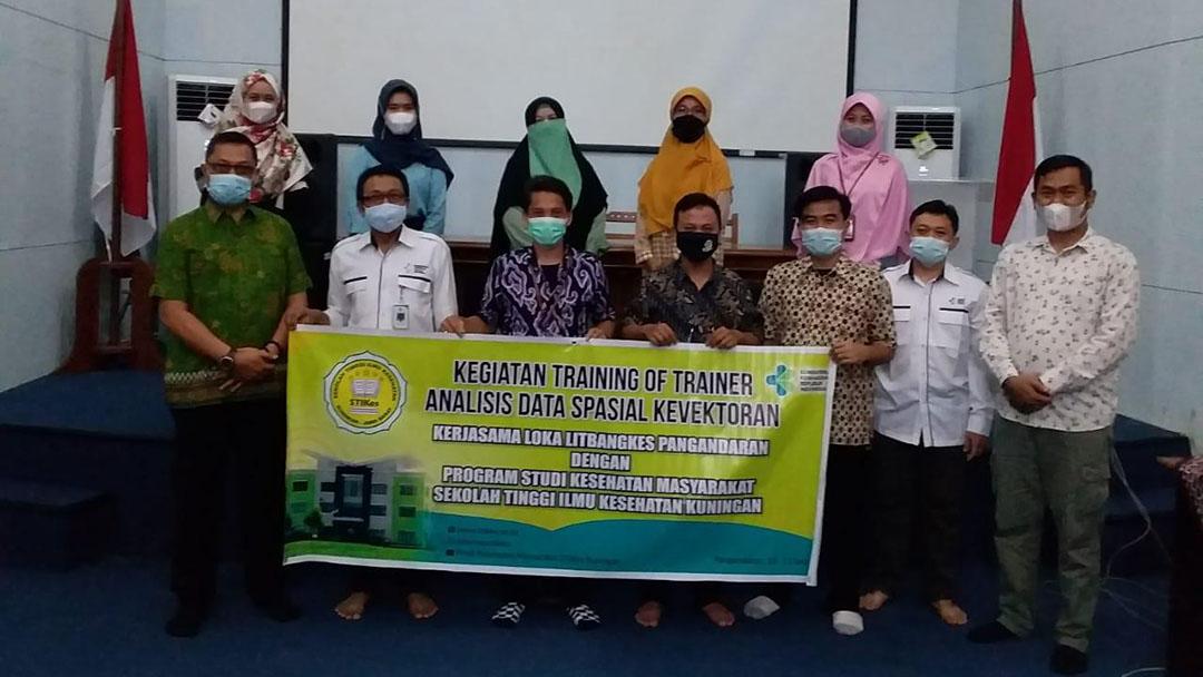 Kerjasama dalam Pelatihan Trainer untuk Penelitian Analisis Spasial Kerawanan Wilayah Transmisi Virus Dengue di Kabupaten Kuningan
