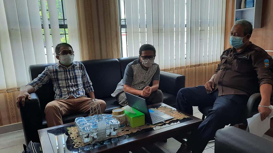 "Advokasi Hasil Survei Cepat ""Investigasi Perilaku Memakai Masker Penduduk Kabupaten Pangandaran"""