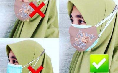 Panduan Menggunakan Masker Dengan Benar