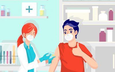 Jadwal Pelaksanaan Vaksinasi Covid-19 Periode Agustus 2021 UPTD Puskesmas Pangandaran
