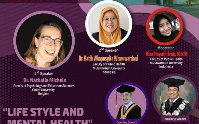 International Webinar Series 2021: Lifestyle and Mental Health. Rabu 15 September 2021