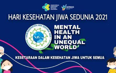Meningkatkan Kesetaraan, Tema Peringatan Hari Kesehatan Mental Sedunia 2021